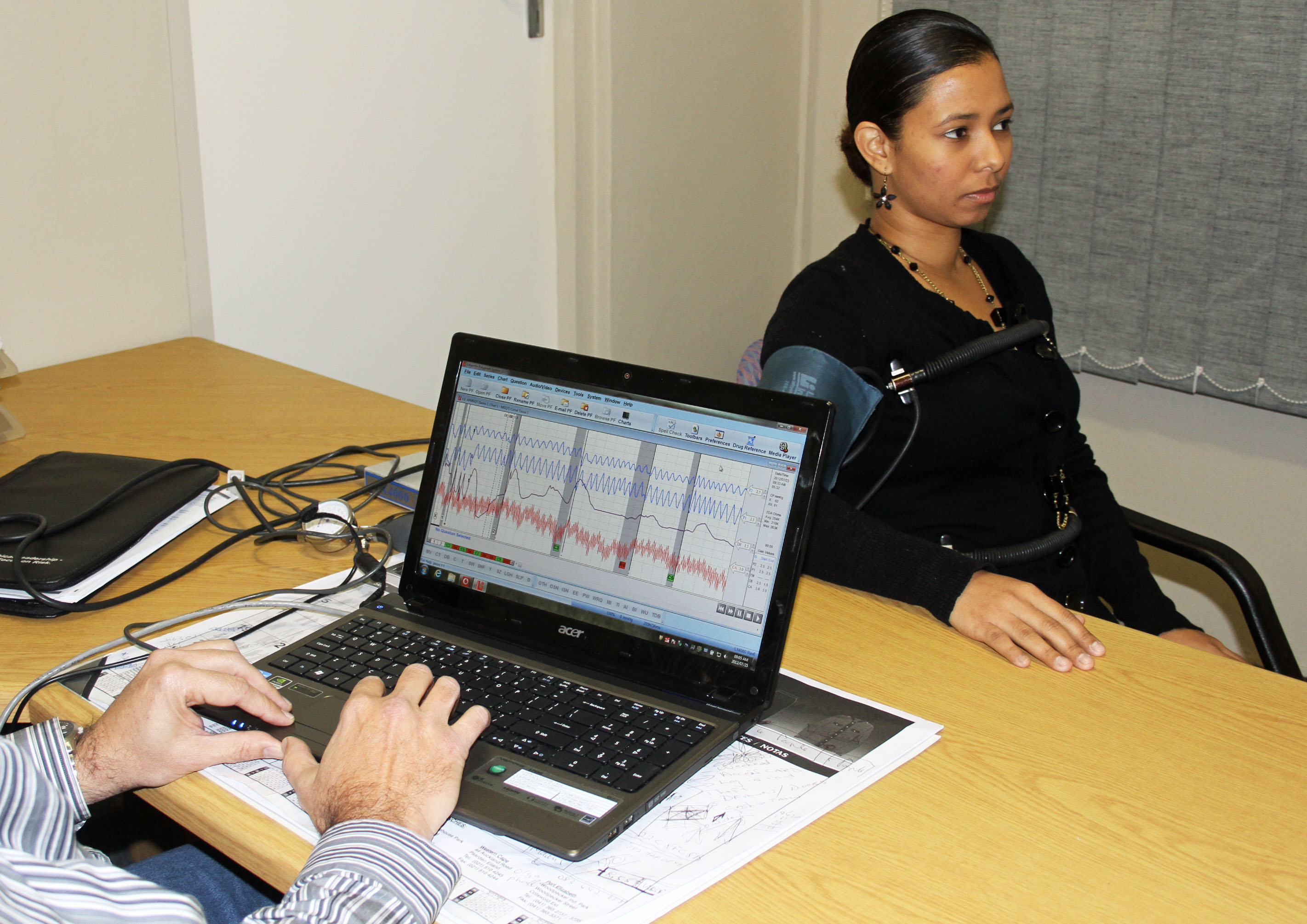 Jew Detector: Pre-employment Polygraph Tests