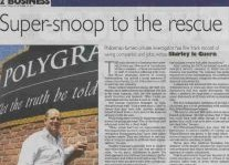 Super-Snoop To The Rescue Article Clipping