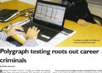 Polygraph Testing Roots Out Career Criminals