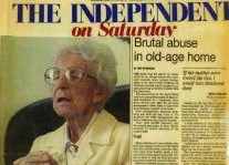 Brutal Abuse In Old Age Home Article Clipping