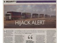 Hijack Alert Article Clipping