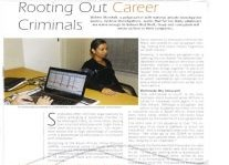 Rooting Out Career Criminals Article Clipping