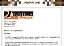 Theft Of Cash By Employee Article Clipping